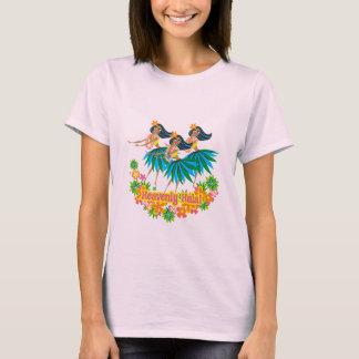 天空のフラの女性Tシャツ Tシャツ