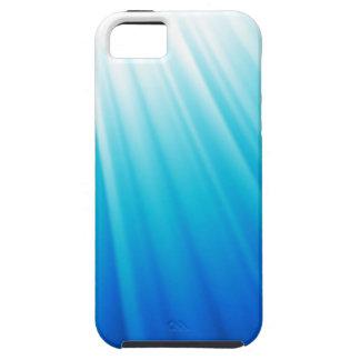 天空の軽くグラデーションで白い水の青 iPhone 5 COVER