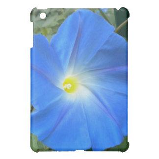 天空の青い朝顔のiPadの箱 iPad Miniケース