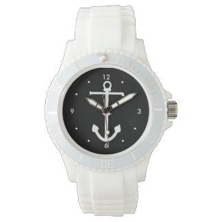 太字が付いているいかりの腕時計 腕時計