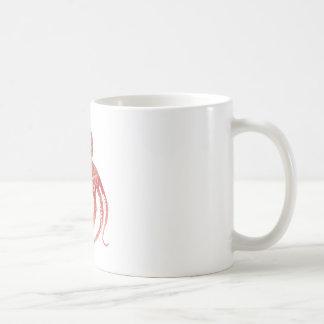 太平洋のタコの吸盤数 コーヒーマグカップ