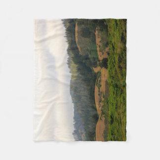 太平洋のハイウェー1毛布 フリースブランケット