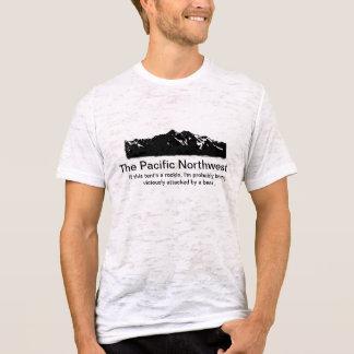 太平洋の北西のキャンプ Tシャツ