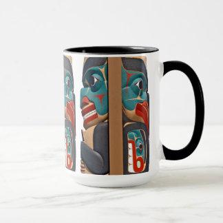 太平洋の北西トーテムのマグ マグカップ