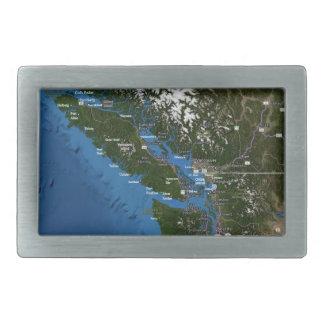 太平洋の北西ベルトの留め金 長方形ベルトバックル