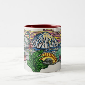 太平洋の北西夢 ツートーンマグカップ