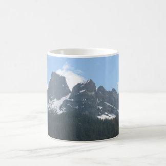 太平洋の北西山 コーヒーマグカップ