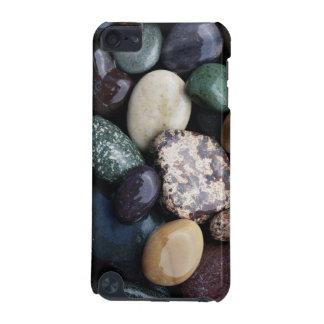 太平洋の北西米国のカラフルな川の石 iPod TOUCH 5G ケース