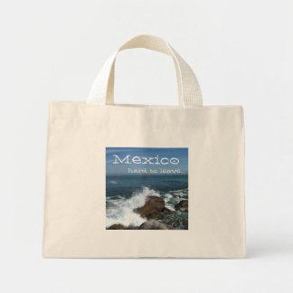 太平洋の泡; メキシコの記念品 ミニトートバッグ