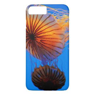 太平洋の海のイラクサ(Chrysaora Fuscescens) iPhone 8 Plus/7 Plusケース
