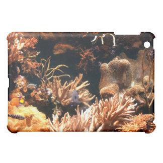 太平洋の珊瑚礁のiPadの場合 iPad Miniケース