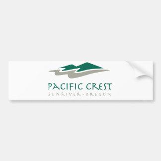 太平洋の頂上 バンパーステッカー