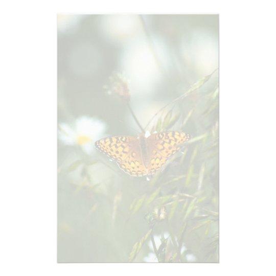 太平洋のFritillaryの蝶 便箋