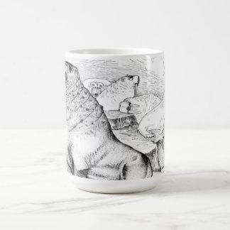 太平洋セイウチ コーヒーマグカップ