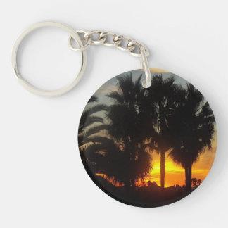 太平洋沿岸の日没 キーホルダー