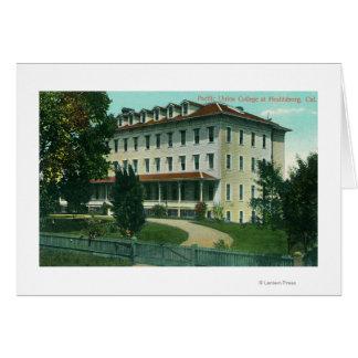 太平洋連合大学の外観 カード