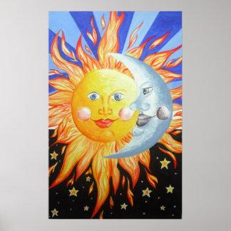 太陽および月 ポスター