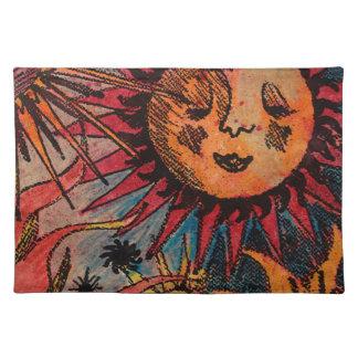 太陽および月 ランチョンマット