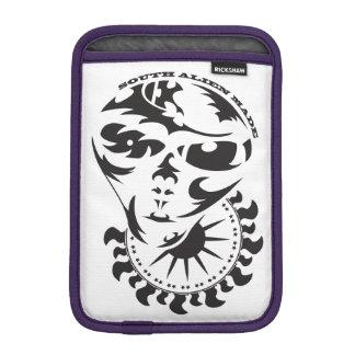 太陽および穀物の円を持つ種族のエイリアン iPad MINIスリーブ