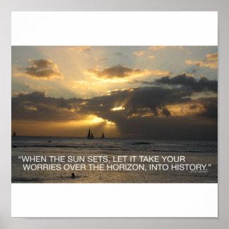 太陽が…置く時 ポスター