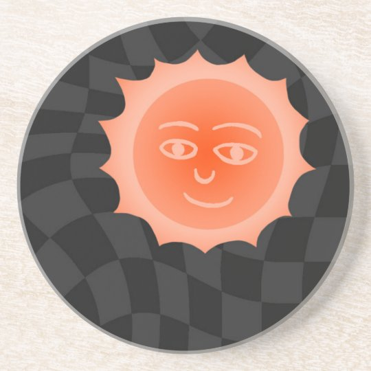 太陽さん コースター