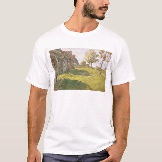 太陽に照らされた日。 小さい村1898年 Tシャツ