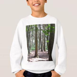 太陽に照らされた森林床 スウェットシャツ