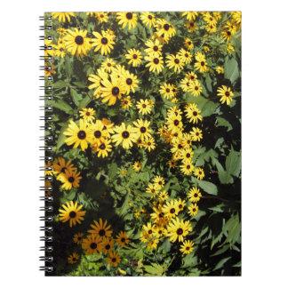 太陽に照らされた草原 ノートブック
