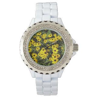 太陽に照らされた草原 腕時計