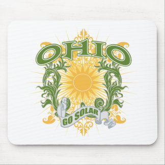 太陽のなオハイオ州 マウスパッド