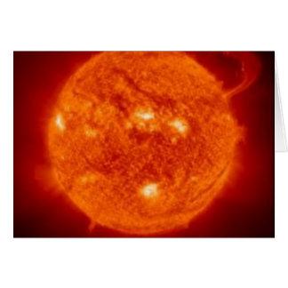 太陽のな卓越性 グリーティングカード