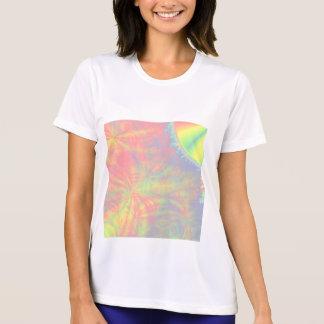 太陽のな破烈、フラクタルの芸術。 多彩 Tシャツ