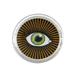 太陽のな緑の瞳 指輪