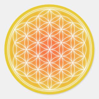 太陽のな花0.1 ラウンドシール