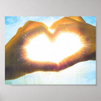 太陽のハート ポスター