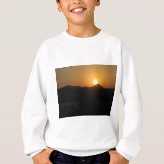 太陽の上昇の太陽セット スウェットシャツ