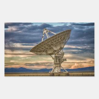 太陽セットとして非常に大きい配列 長方形シール
