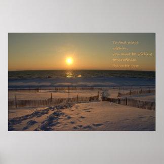 太陽セット ポスター
