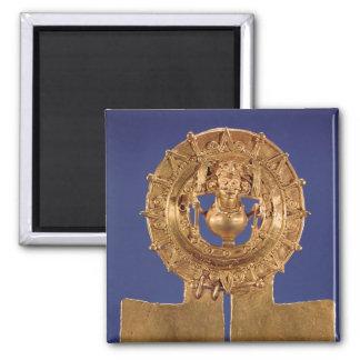 太陽ディスク、Zaachilaを表すペンダント マグネット