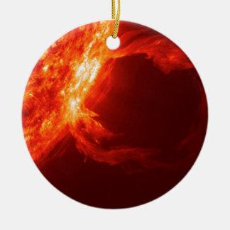 太陽フレア1 セラミックオーナメント