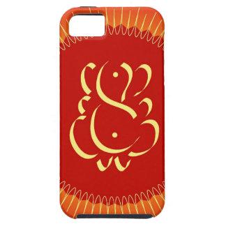 太陽光線を持つ神Ganesha iPhone SE/5/5s ケース