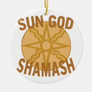 太陽神Shamash セラミックオーナメント