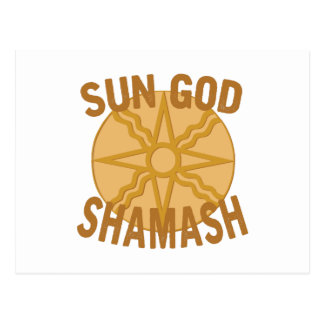 太陽神Shamash ポストカード