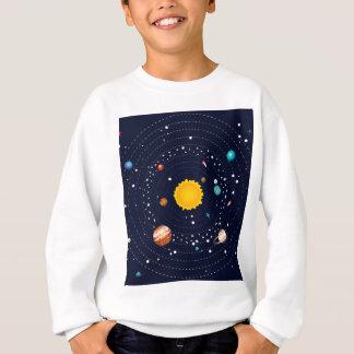 太陽系の惑星 スウェットシャツ
