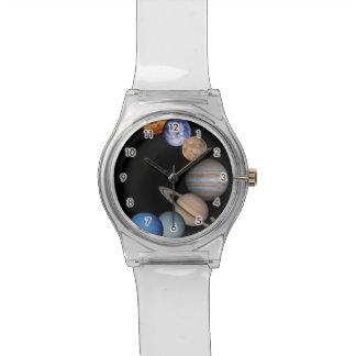 太陽系の惑星 腕時計