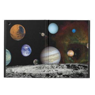 太陽系の航海者のイメージのモンタージュの宇宙の写真 iPad AIRケース