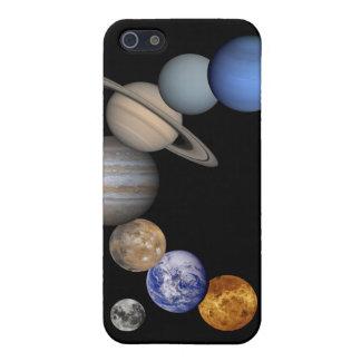 太陽系のiPhone 4の皮 iPhone 5 Case