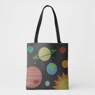 太陽系 トートバッグ