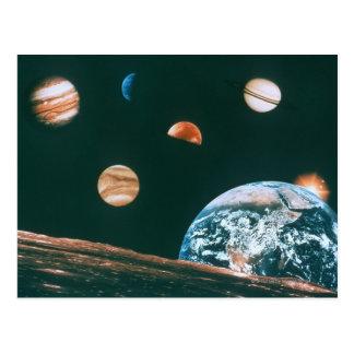 太陽系 ポストカード
