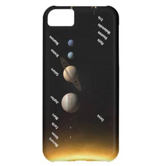 太陽系 iPhone5Cケース